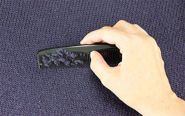 Mẹo sử dụng lược lượi bỏ quafanaos ị xù lông