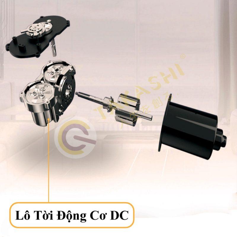 Lô tời của động cơ DC