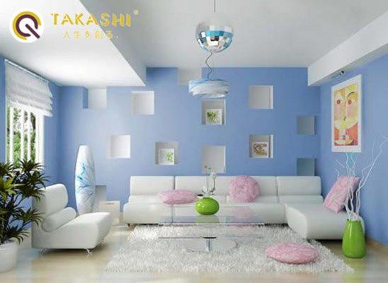 phối màu sơn nhà