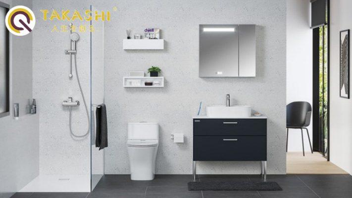 Cách bố chí nhà vệ sinh trong phòng ngủ