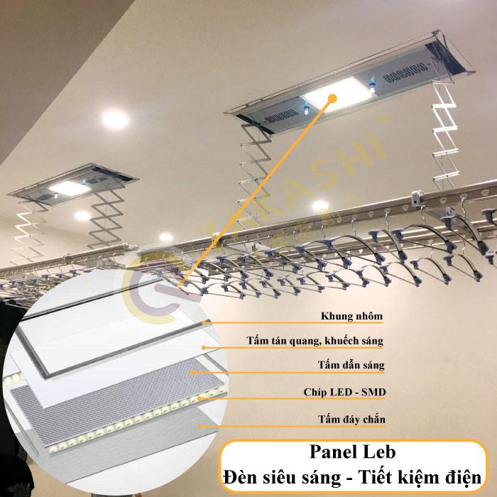 Đèn Led chiếu sáng panel siêu sáng