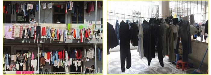 Dây phơi quần áo truyền thống