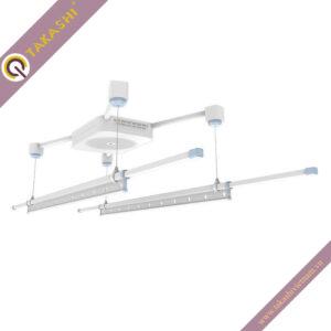 Giàn phơi bấm điện GB-100